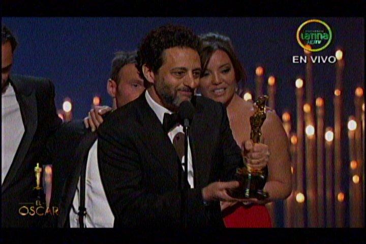 Premiados por Argo (Imagen, cortesía de Frecuencia Latina)