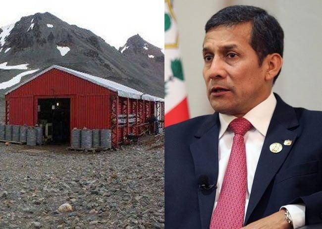 Ollanta Humala no podrá visitar La Antártida