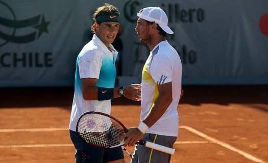 Tras siete meses de inactividad, Rafael Nadal volvió a las canchas de tenis