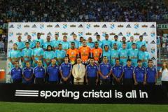 """El campeón peruano, Sporting Cristal, presentó a su plante en la """"Noche de la Raza Celeste"""""""
