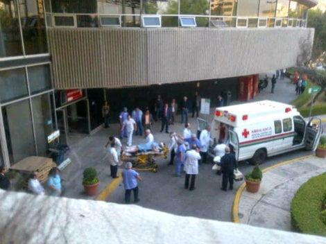 Explosión en Torre de Pemex (Milenio TV)