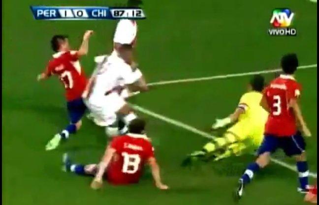 Revive el gol de Jefferson Farfán que le dio el triunfo a Perú