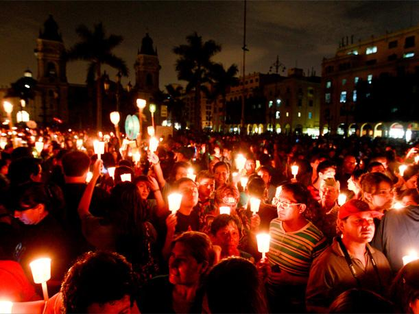 La Hora del Planeta en Lima