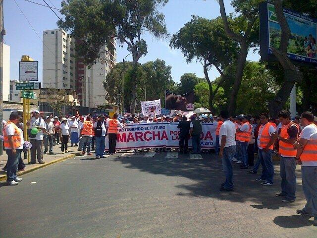 Se inicia la Marcha por la Vida (Foto: Twitter)