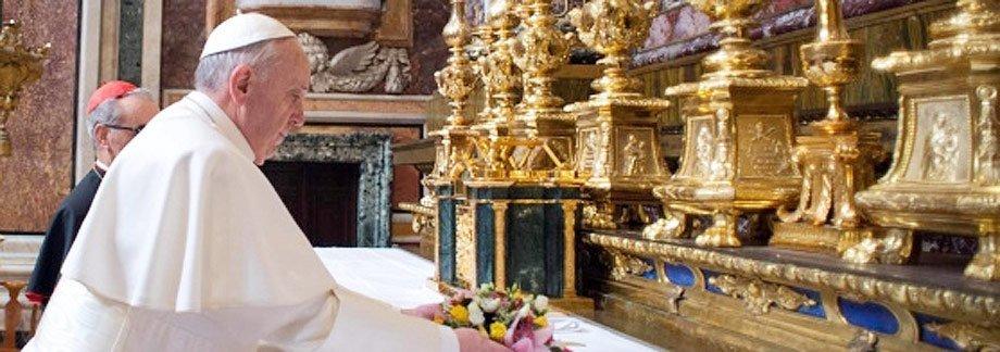 El Papa Francisco en primera misa