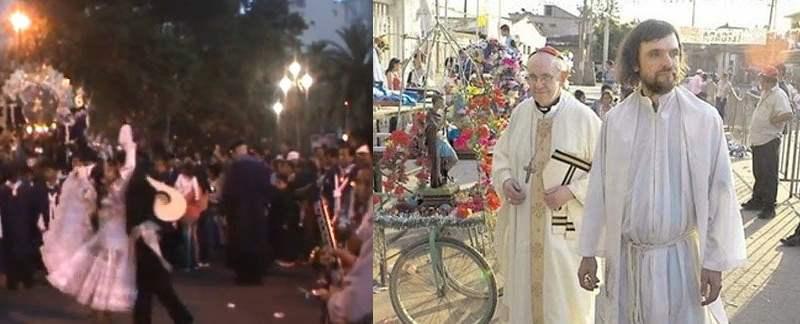 El Papa Francisco en su labor pastor por el barrio de Flores