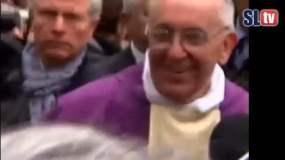 El Papa Francisco ante multitud de fieles