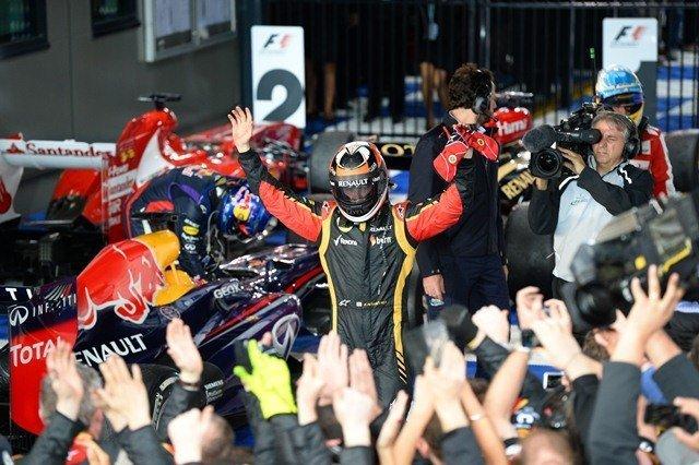 Kimi Raikkonen sorprendió al lograr la primera carrera de la temporada 2013 en Australia.