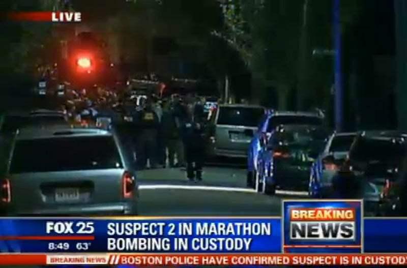 URGENTE: Segundo sospechoso de atentado en Boston fue capturado vivo