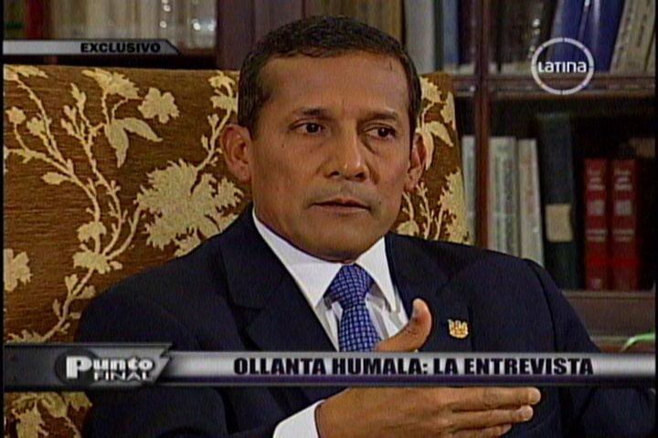 Humala: Petroperú sería accionista minoritario en posible compra de Repsol