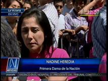 Nadine Heredia dice que si números no cuadran, compra de Repsol no va