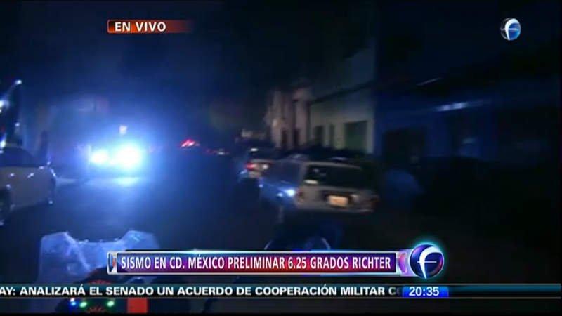 México en alerta por fuerte sismo (Foro TV)