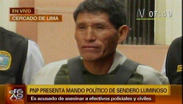 Raul Mesías Miranda Ríos (Captura Canal N)