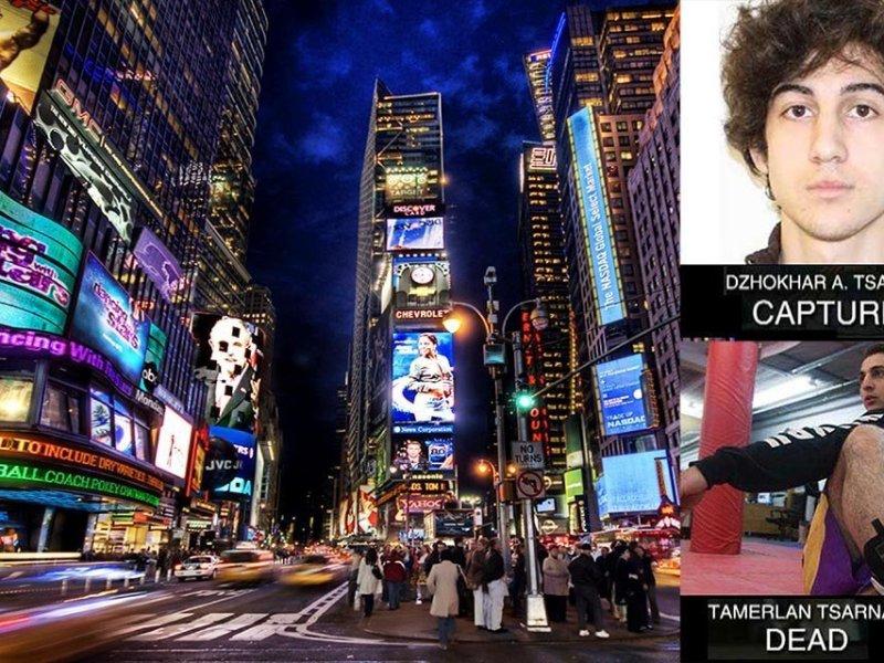 Terroristas de Boston iban a detonar bomba en el Times Square de Nueva York