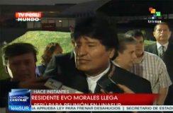 Llegan a Lima presidentes para cumbre Unasur sobre Venezuela