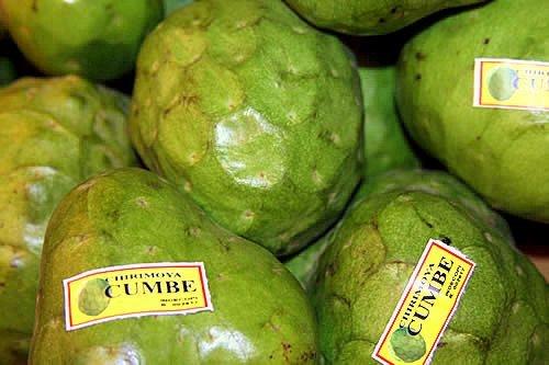 Europeos interesados en importar la chirimoya peruana producida en el distrito de Cumbe.