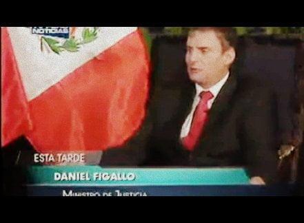 "Ministro Figallo sobre indulto a Fujimori: ""En breve se debe emitir informe"""
