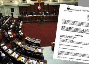 Gana Perú propone aumentar a 134 el número de congresistas