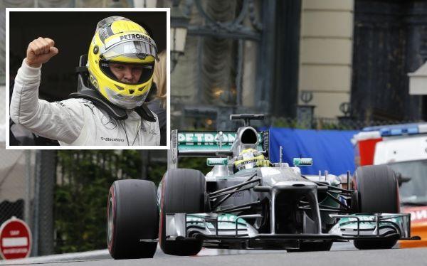 El alemán Nico Rosberg obtuvo el Grand Prix de Mónaco.