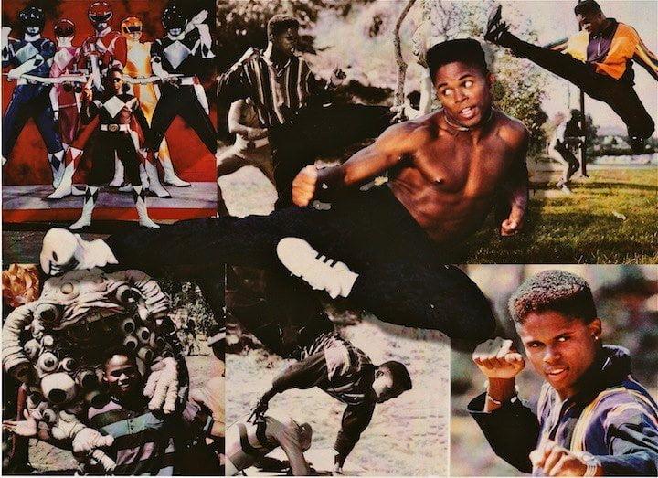 Power Ranger Negro interpretado por Walter Jones