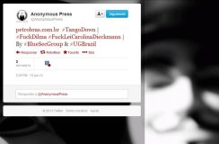 Anonymous ataca sitios web de ministerio y petrolera en Brasil