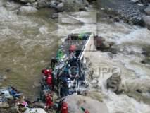 Al menos 30 muertos deja volcadura de bus en Chanchamayo - Junín