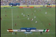 (Cortesía ATV). España vs Italia por la Copa Confederaciones