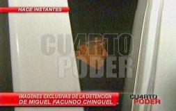 Narcoindultos: Detienen a Facundo Chinguel a su salida de canal de TV