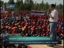 """(Video) Humala cuadra a obreros pelucones y les dice: """"Parecen mujer"""""""