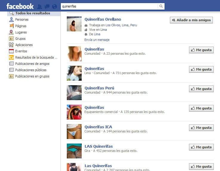 Quinerifas: Crean 24 grupos en Facebook para estafar