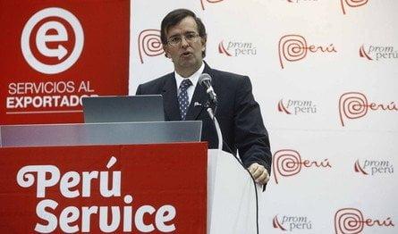 Se buscará potenciar la exportación de productos a través del evento Perú Service Summit 2013 señaló el ministro del Mincetur, José Luis Silva.