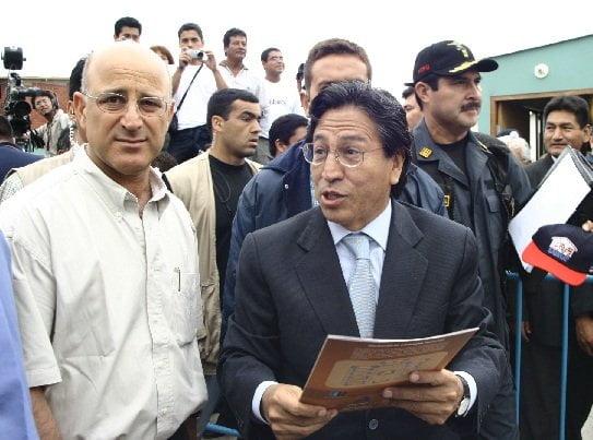 Ex jefe de seguridad de Alejandro Toledo viajó 10 veces a Costa Rica
