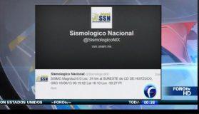 Fuerte sismo de 6.0 grados sacudió México esta noche