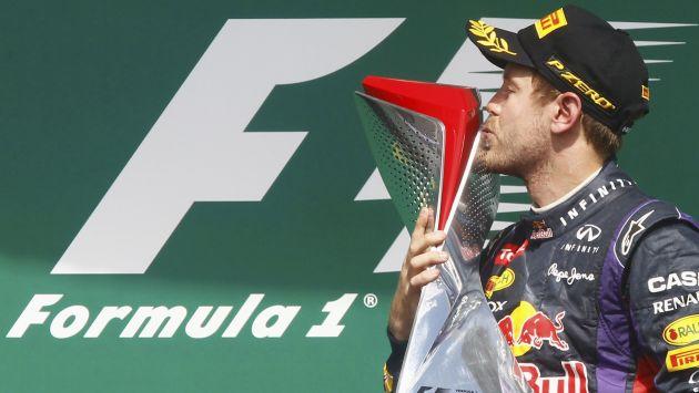 Sebastian Vettel ganó en Canadá de punta a punta.