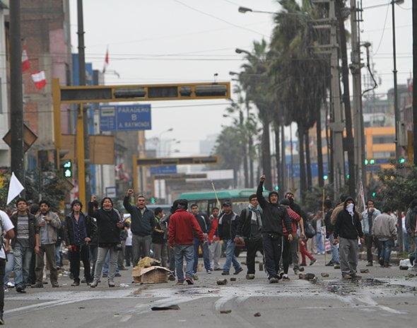 Detuvieron a 15 personas tras movilización #27J #TomaLaCalle