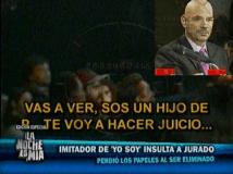"""Confirmado: 'Luis Miguel' de Yo Soy a Ricardo Morán: """"Sos un hijo de p..."""""""
