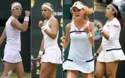 Las 4 semifinalistas de Wimbledon 2013, irán por su primer Grand Slam de sus carreras .tenísticas.