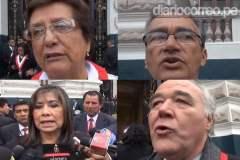 """Congresistas: """"Discurso de Humala fue desordenado, confuso y tibio"""""""