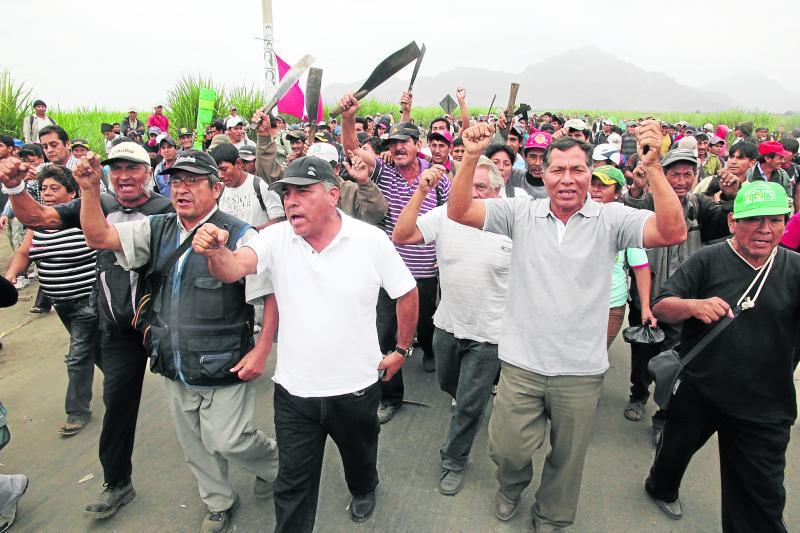 Un muerto y varios heridos por violento enfrentamiento en azucarera Agro Pucalá