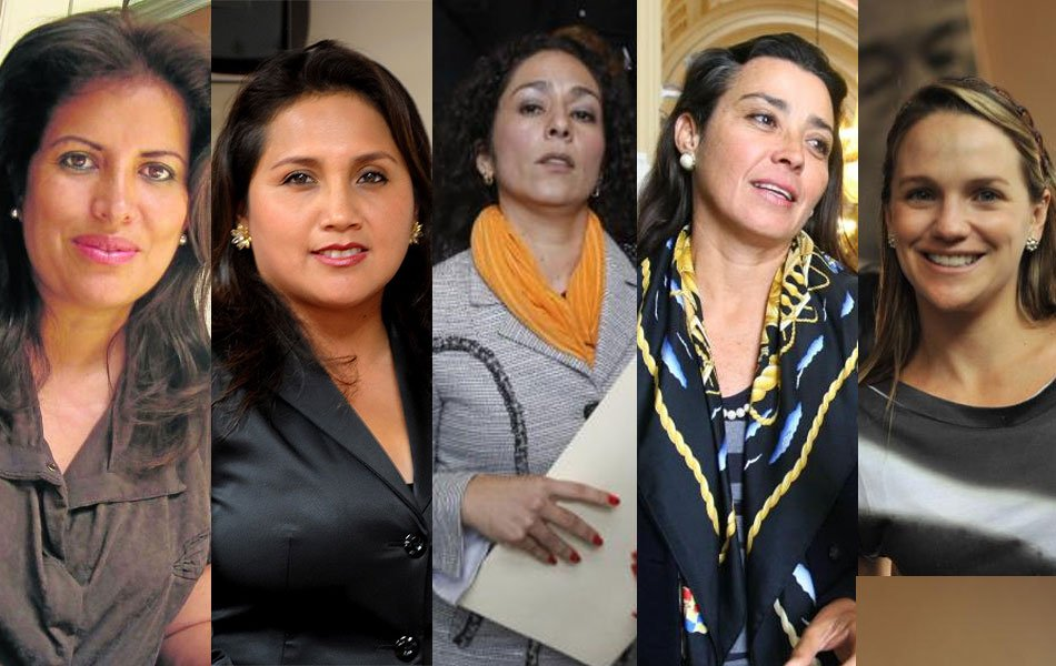 Estas son las congresistas más bellas, ¿con cuál te quedas?