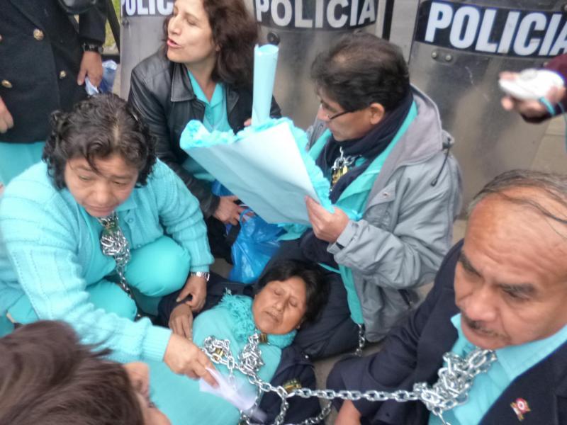 Enfermeras del Ministerio de Salud levantaron huelga