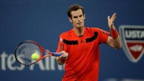 El campeón defensor del US Open, Andy Murray, debutó de gran manera en el US Open 2013.