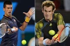 Novak Djokovic y Andy Murray confirmaron su favoritismo en el US Open.