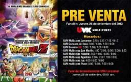 """Dragon BaLL Z: Hoy se inicia preventa para """"La Batalla de los Dioses"""""""