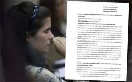 DOCUMENTO: Eva Bracamonte sale en libertad tras nulidad del proceso