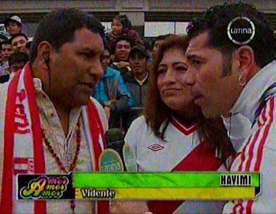 Hayimi y cuy Claudio pronosticaron derrota de Perú ante Uruguay