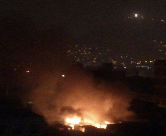 Gran incendio consumió un solar en el Cercado de Lima (Video)
