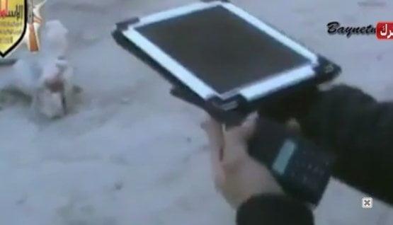 Con iPads los rebeldes Sirios dirigen ataques con morteros