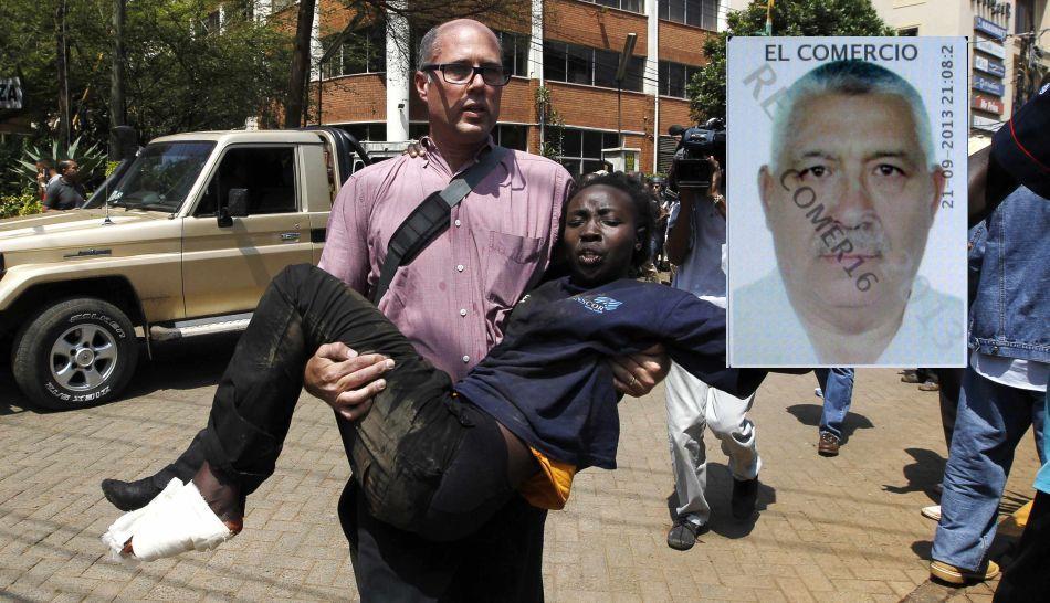 (Foto El Comercio) Esposa de médico muerto por atentado en Nairobi: