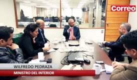 (Video) Ministro del Interior anuncia purga de policías corruptos